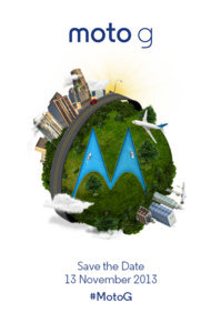Motorola to unveil Moto G on November 13th