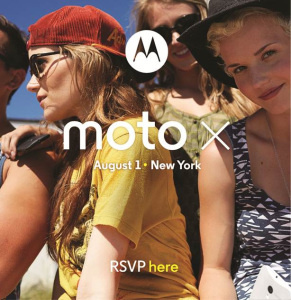 Moto X to be officially revealed on August 1st