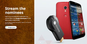 Motorola giving away Chromecast for free with unlocked Moto X