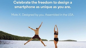 Moto X phone will allow for customized colors, engravings
