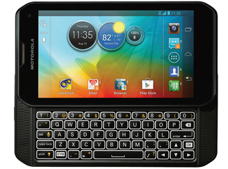 Motorola sticks to QWERTY with new high-end smartphone