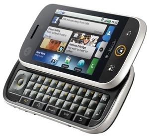 Motorola Cliq gets date, price