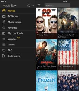 MovieBox - Popcorn Time voor iOS zonder jailbreak
