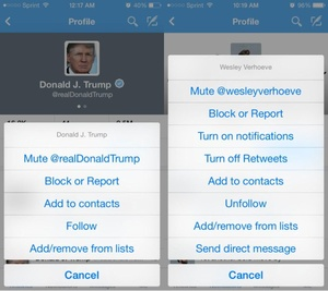 Twitter to let you mute annoying people that you don't want to fully unfollow