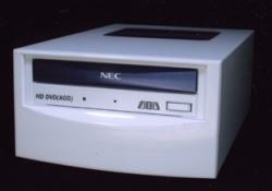NEC esitteli HD-DVD -aseman