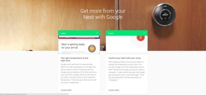 Nest smart themostat owners can now control the device with Google voice controls