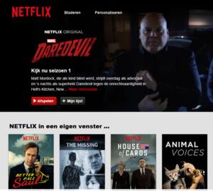 Snel je favoriete series en films bekijken in de Netflix Browser
