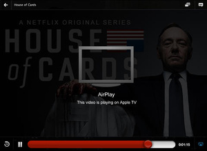 Netflix updated for iOS with HD video, Airplay support