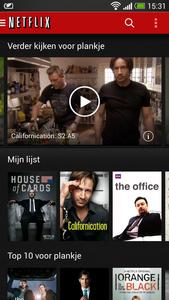 Uitrol Netflix-app voor Android v3.0 begonnen.