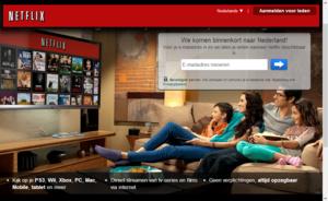 Netflix dit jaar nog naar Nederland