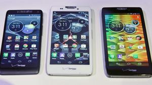 Motorola shows off revamped Razr line