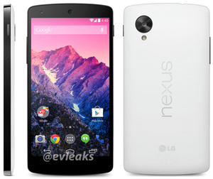 Google Nexus 5 release date leaked for November 1st, white colorway shown off