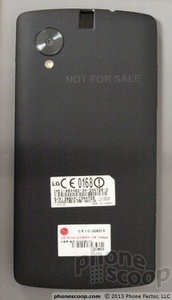 Newly posted FCC pic is likely the Nexus 5