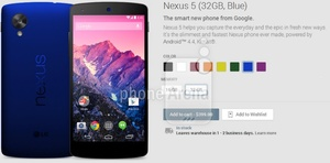 LG Nexus 5 to get new colorways soon?