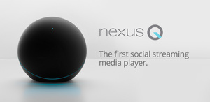 The Google Nexus Q social streaming player