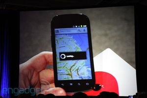 Google shows off Nexus S with NFC features