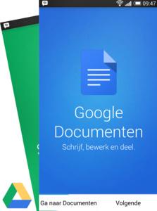 Nieuwe Google apps voor documenten en spreadsheets verplichte kost in Google Drive