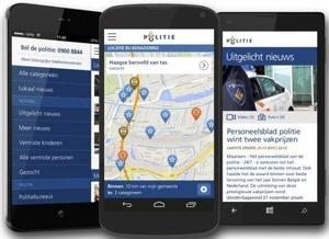 Politie komt met nieuwe app voor iOS en Android