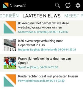 Afterdawn lanceert Nieuws2 nieuwslezer voor Android
