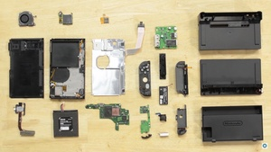 Video paljastaa mitä löytyy Nintendo Switchin sisältä