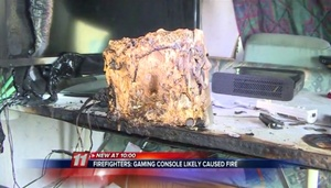 Nintendo Wii 'likely' started home fire, investigators say