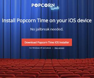 Popcorn Time voor iOS zonder jailbreak nu ook vanaf Mac