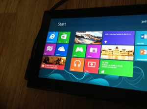 The cancelled Nokia Windows RT tablet, pictured