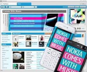 "Nokia ""Comes With Music"" hits UK"
