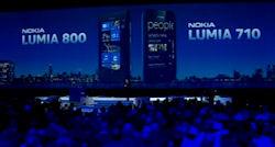 Nokia intros Lumia 710, Lumia 800 WP7 smartphones