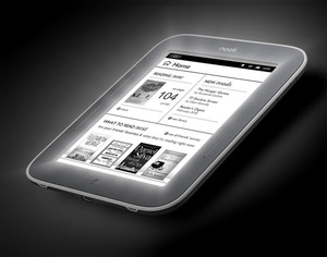 B&N unveils Nook e-reader that can be read in the dark