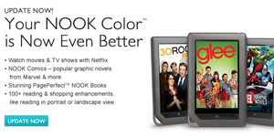 Nook Color gets biggest software update yet
