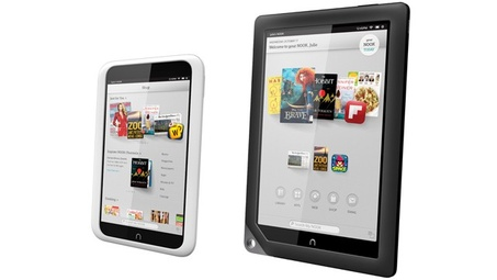 Barnes & Noble posts huge loss, will stop selling Nook tablets