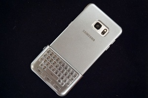 Samsung has brought back the physical keyboard for your smartphone