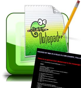 Notepad++ website gehackt door 'Je suis Charlie' editie