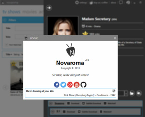 Gemakkelijk films en tv-series met ondertiteling downloaden met Novaroma