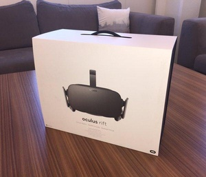 Oculus Rift deliveries begin next week