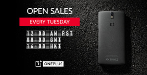 OnePlus One will go on sale every Tuesday for 24 hours