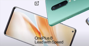 OnePlus 8 is the new compact high-end smartphone from OnePlus