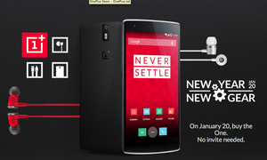 OnePlus One available on January 20th, no invite necessary