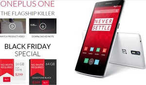 OnePlus One still available without invite as part of Black Friday sale