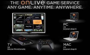 Sony acquires game streaming service OnLive and shuts it down