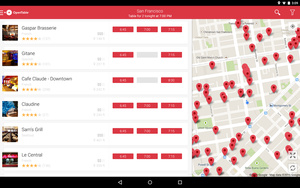OpenTable for Android now allows you to pay for your meals direct from the app