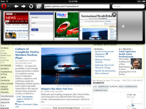 Opera releases Mini browser for iPad