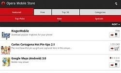 Opera Mobile Store geopend