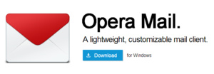 Opera Mail vrijgegeven