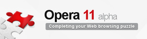 Opera 11 adds extensions