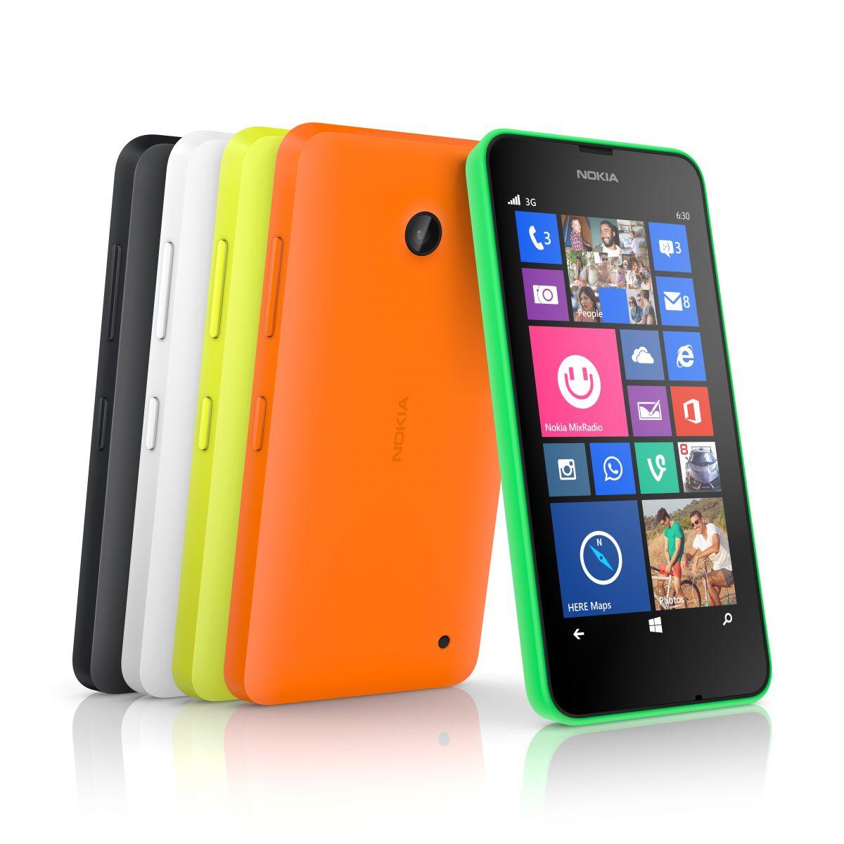Nokia julkisti uudet edulliset Windows-puhelimet: Lumia 630 ja 635 - Puhelinvertailu