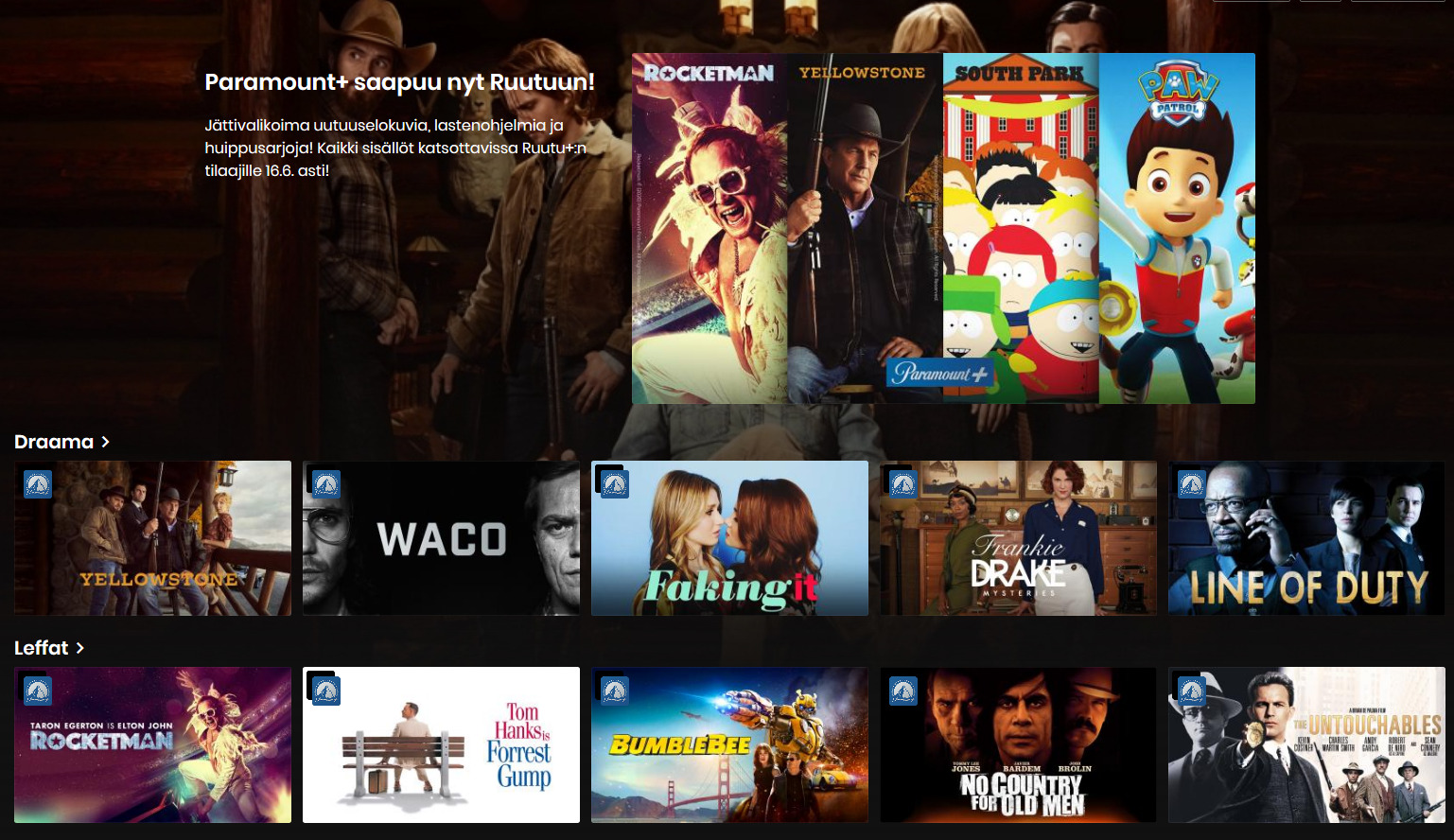 Netflix – sarjat ja elokuvat, niin kuin sinä haluat