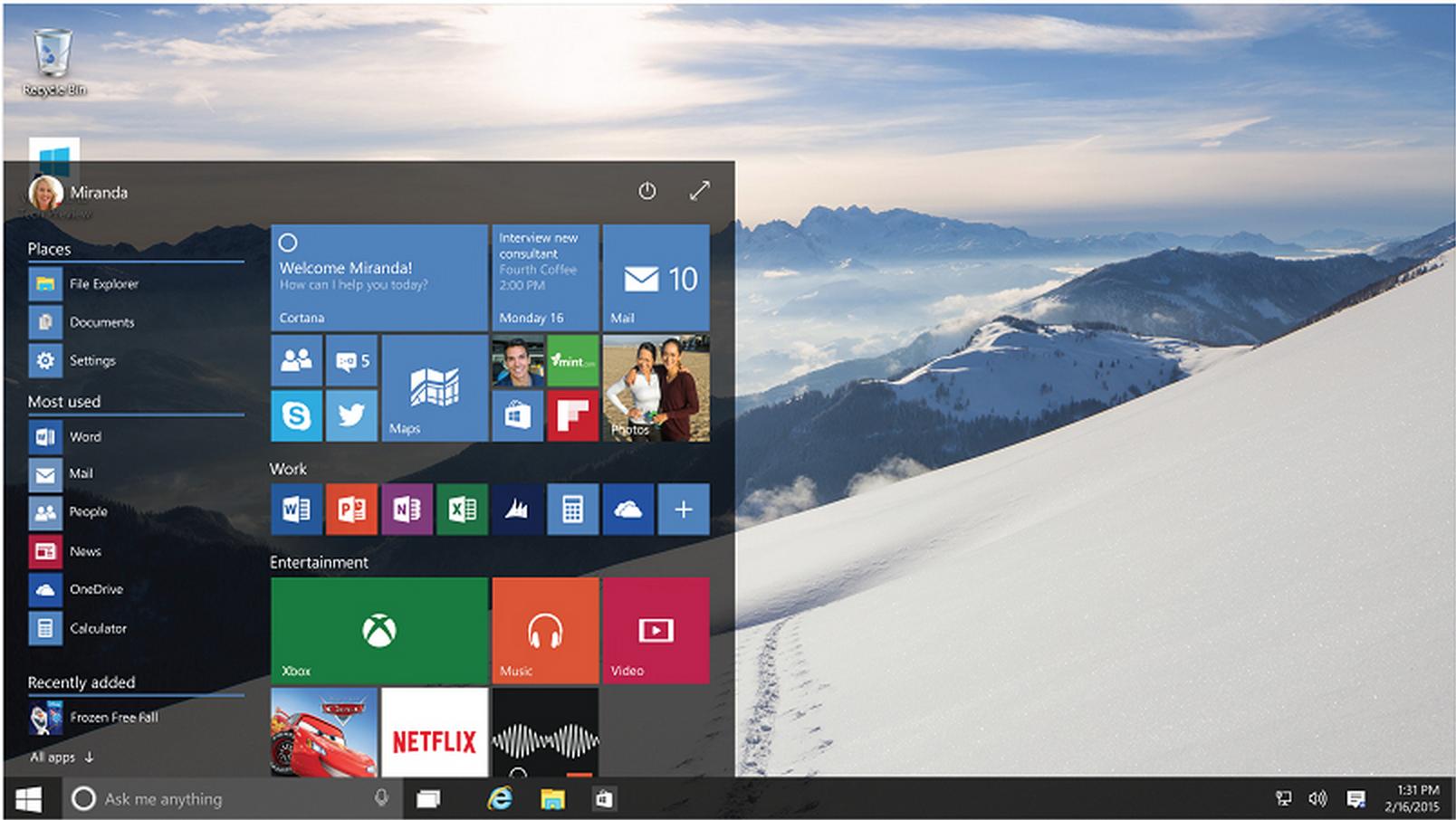 Windows 10 Uusin Versio