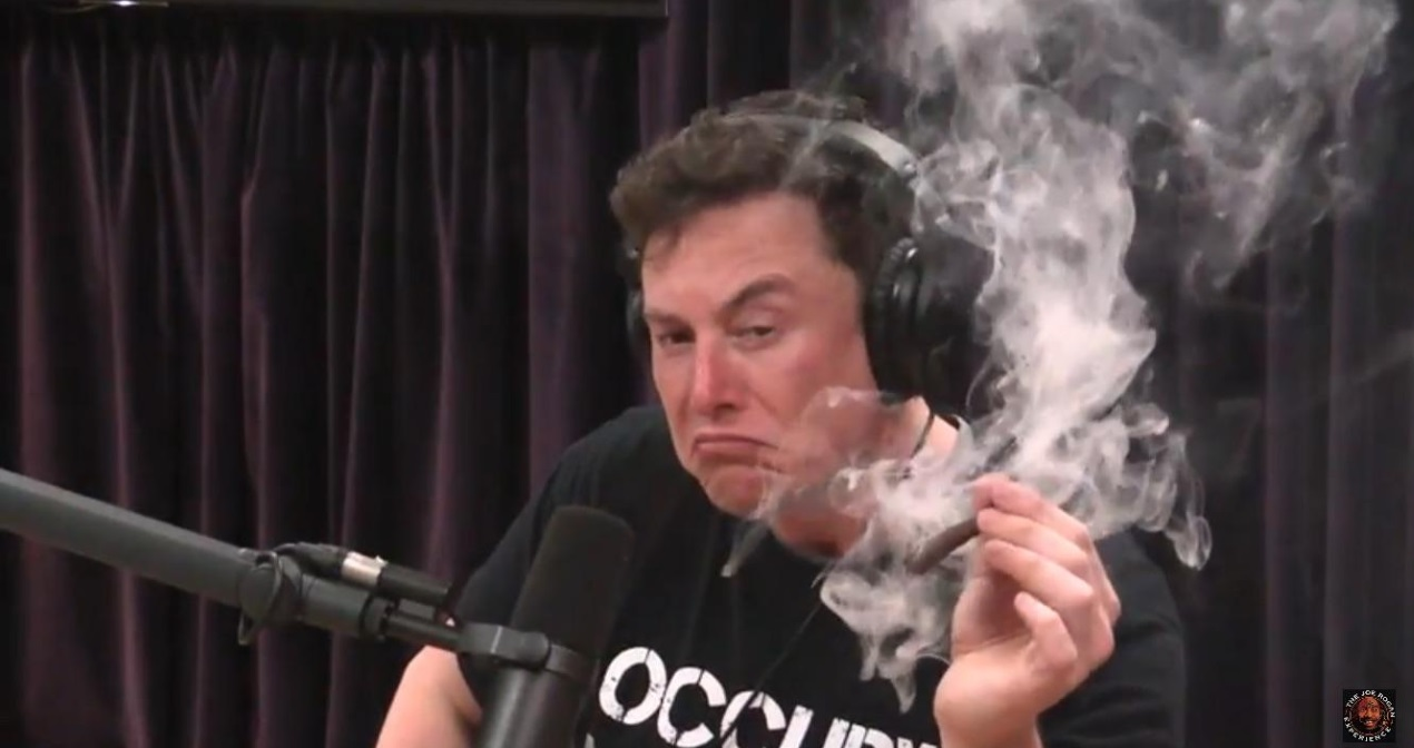 Elon Musk Not Being Probed By Air Force For Marijuana Use